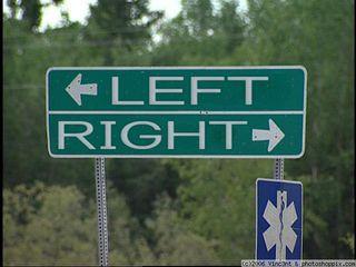 Left-right-politics